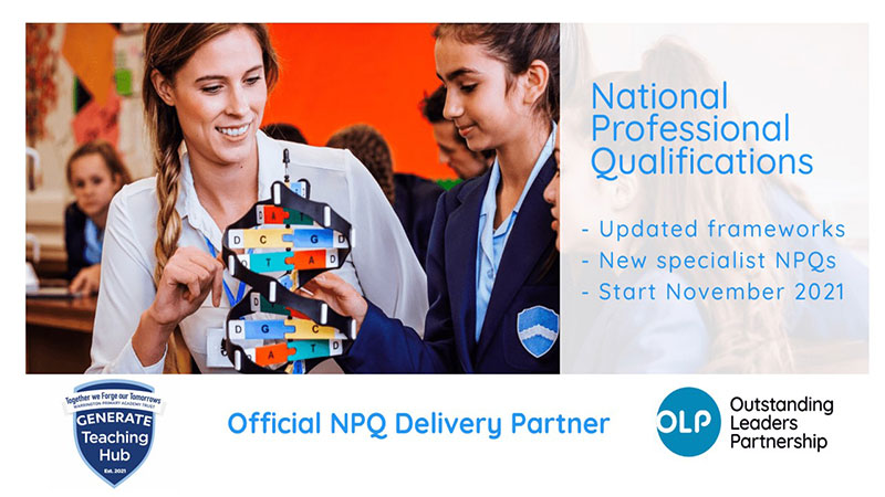 Official NPQ delivery partner